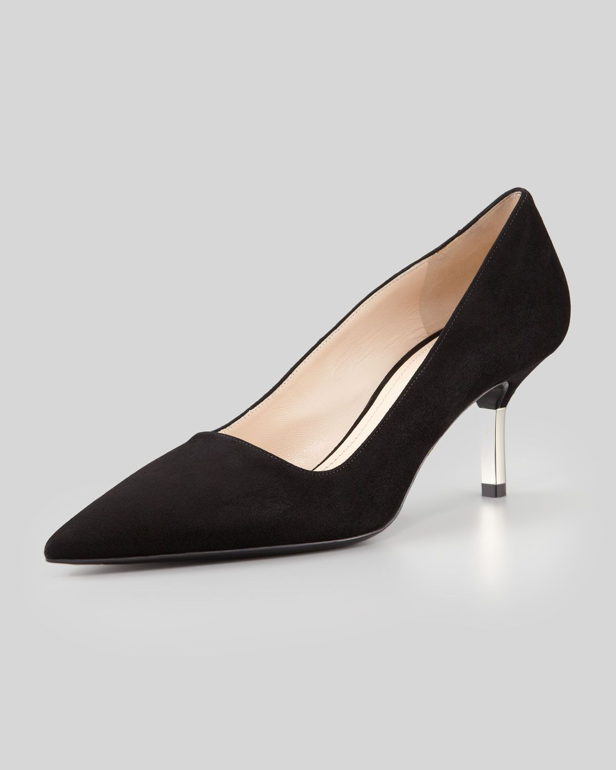 pointed stiletto pumps - Black Prada 7DiqAn