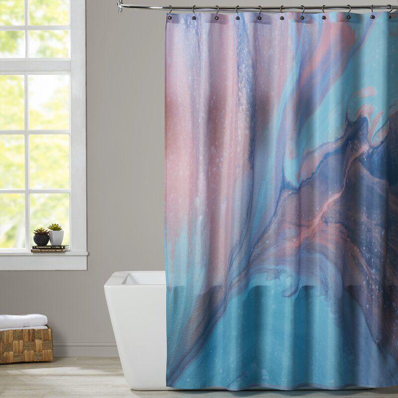 Deb Mcnaughton In Water Single Shower Curtain In 2020 Shower Curtain Ocean Shower Curtain Curtains