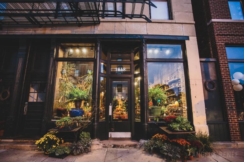 A New Leaf, A Chicago Wedding Venue (and flower shop