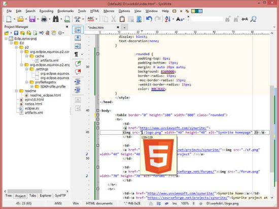 The 9 Best Free Html Editors For Web Developers Windows Edition Noupe Web Development Html Editor Teaching