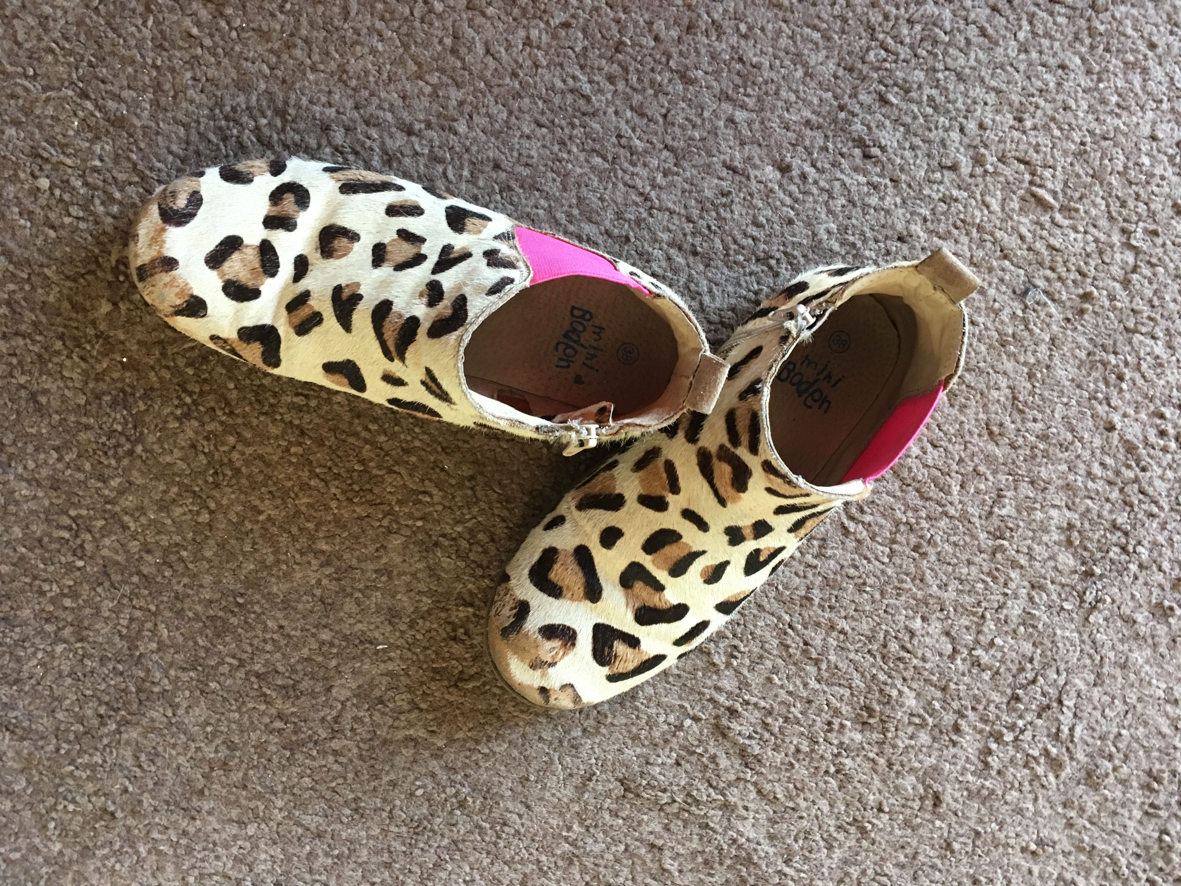 My gorgeous cheater boots from mini bouden