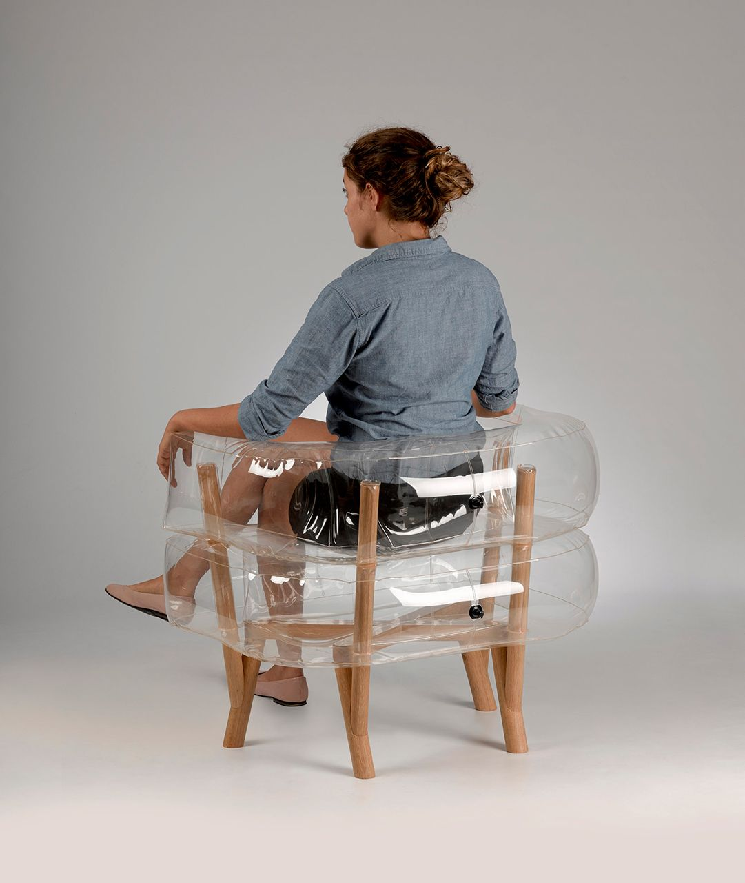 Inflatable furniture  Anda Chair by Tehila Guy  Inflatable chair and Guy