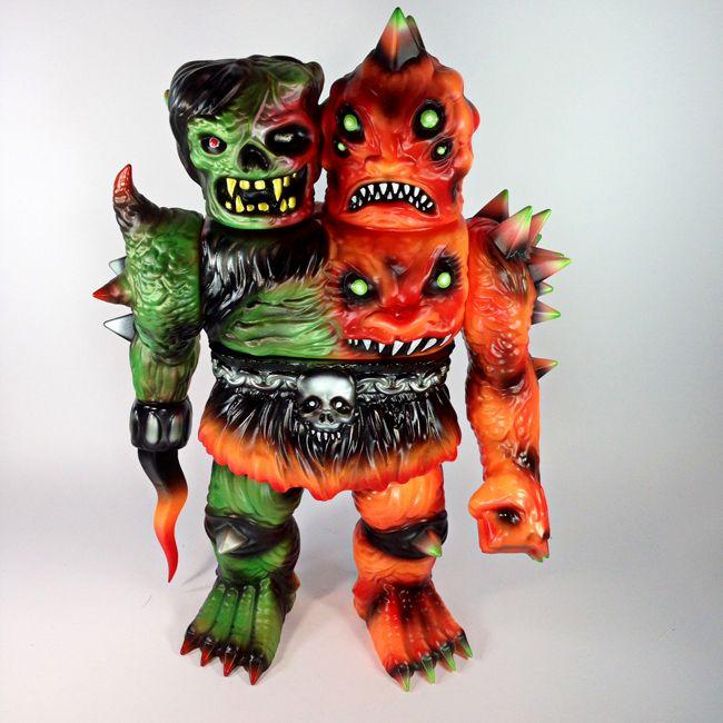 「two headed monster toys sofubi」的圖片搜尋結果