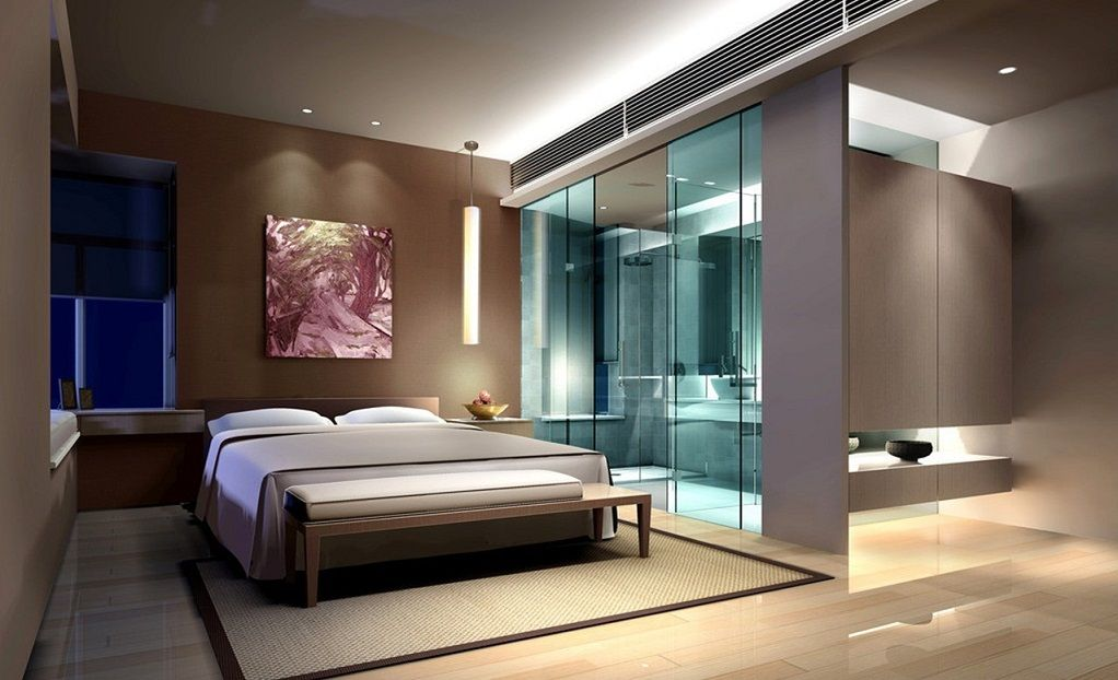 Best Master Bedroom With Attached Bath Sliding Door Id829 400 x 300