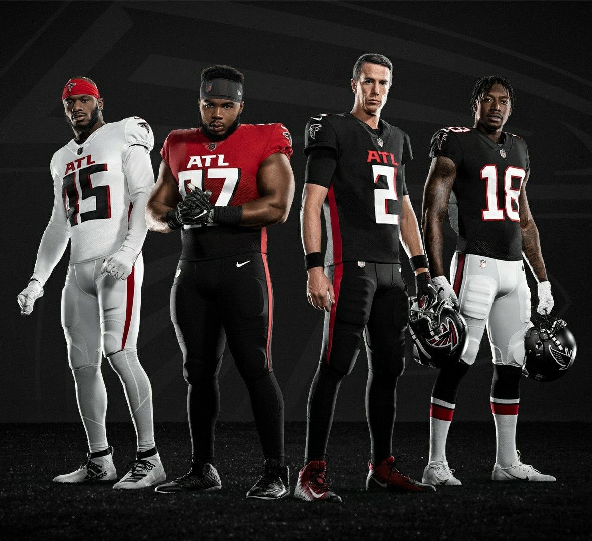 2020 Atlanta Falcons Uniforms In 2020 New Nfl Uniforms Nfl Uniforms Atlanta Falcons