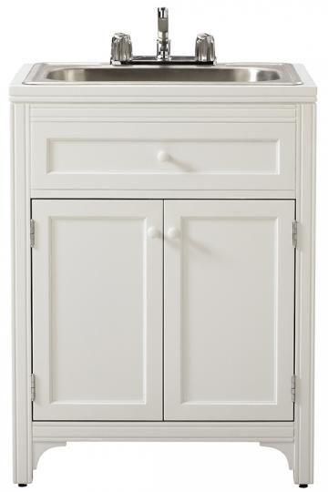 Martha Living Laundry Storage Utility Sink Cabinet Room Ikea