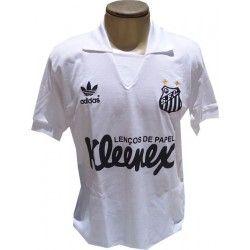 49e580f137967 Camisa retrô Santos kleenex Santos Futebol Clube