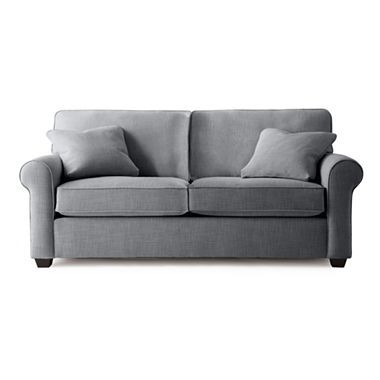 Possibilities Roll Arm 75 Quot Full Sleeper Sofa A Small
