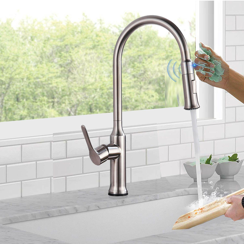 Https Ift Tt 2eounxx Kitchen Mixer Ideas Of Kitchen Mixer Kitchenmixer Touch Kitch Kitchen Faucet Brushed Nickel Kitchen Faucet Touch Kitchen Faucet