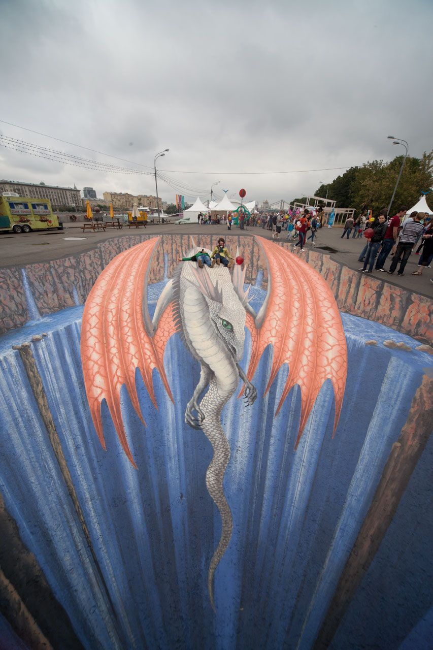Bright People By Edgar Müller For The International Festival Of - 17 amazing works of 3d street art