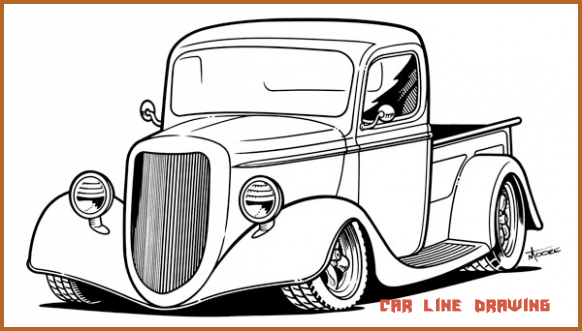 Seven Quick Tips For Car Line Drawing Car Line Drawing Car Drawing Pencil Car Drawings Cars Coloring Pages