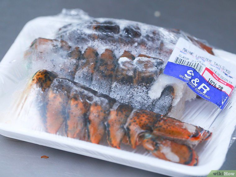 How to cook boil frozen lobster tails