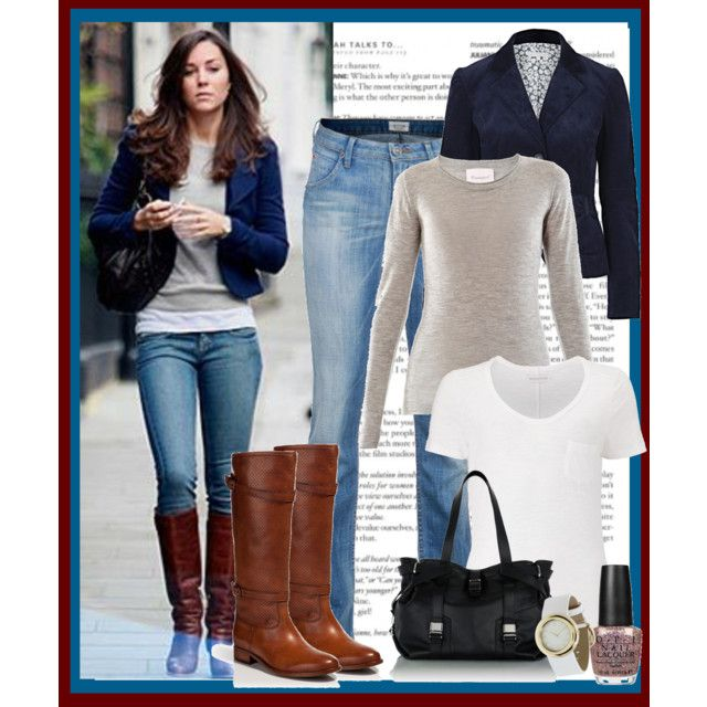 Kate Middleton Chic Casual Blazer Style 1 By Glama Puss On Polyvore Kate Middleton