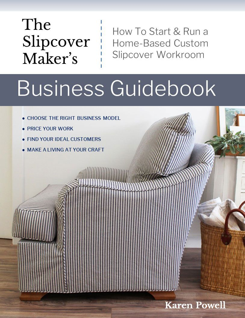 Business Ebook For Slipcover Makers In 2020