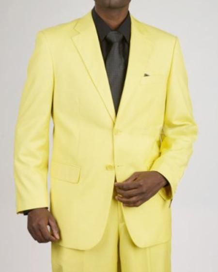 5aa995a4c3c #Men's #2 #Button #Yellow #Suit for #$139 also known as #complete #prom  #dress