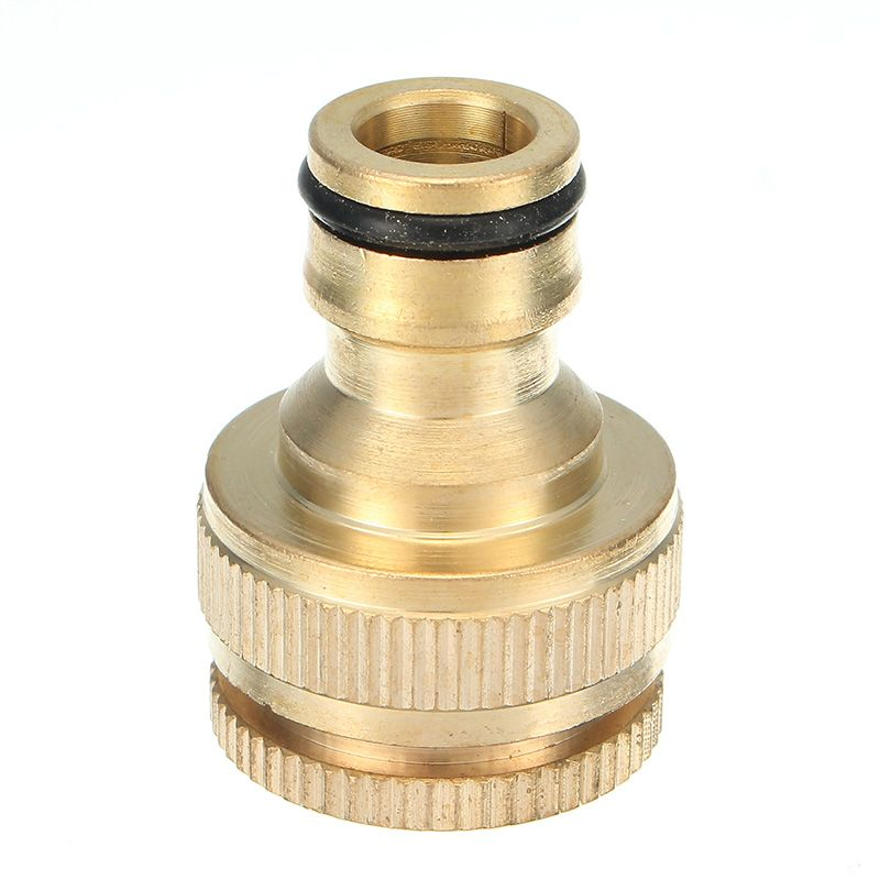 1 2 3 4 Inch Brass Faucet Adapter Female Washing Machine Water Tap Hose Quick Connector Brass Faucet Water Tap Faucet