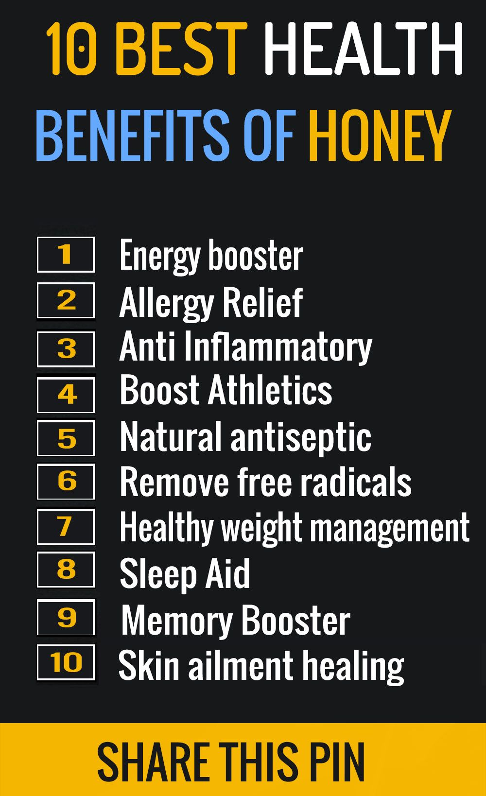 10 Health Benefits On Honey Heath Care Honey Benefits Health