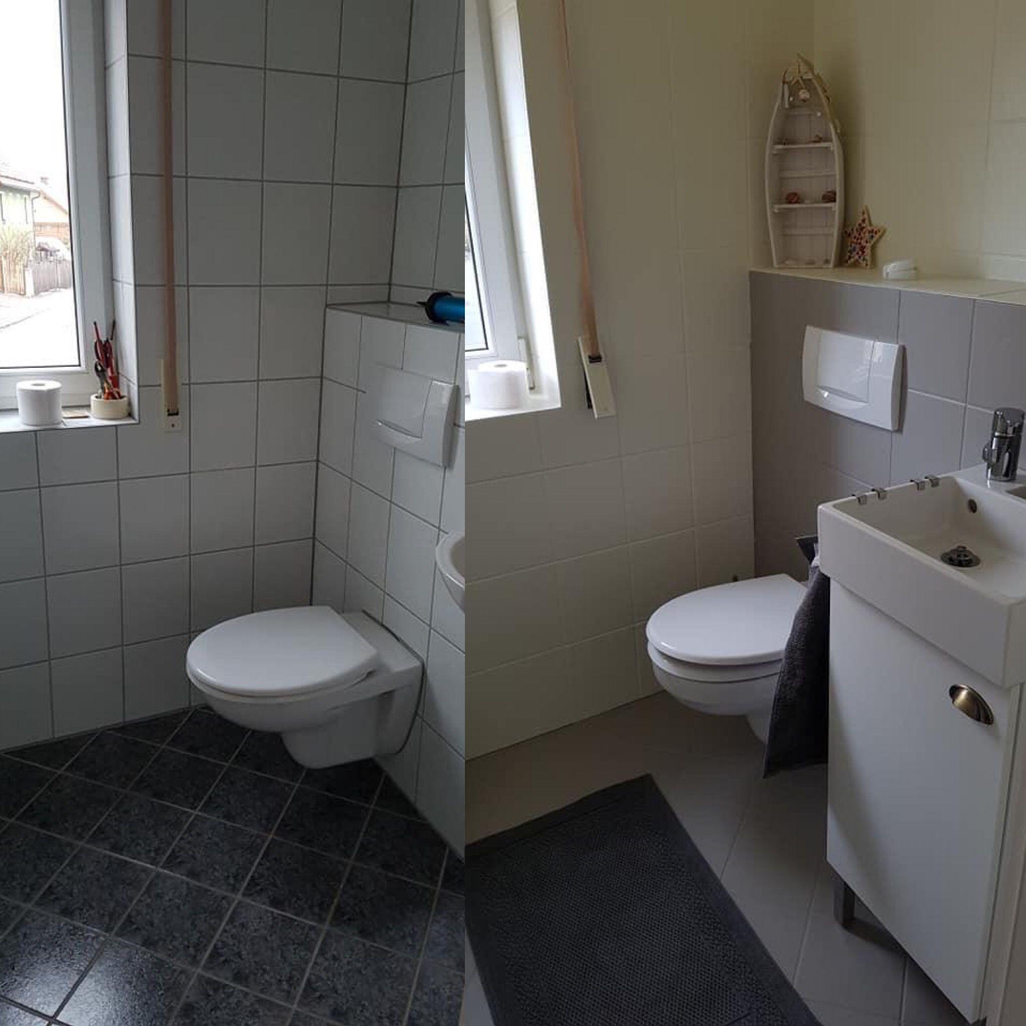 Gaste Wc Streichen Wc Renovieren Toilette Renovieren Gaste Wc