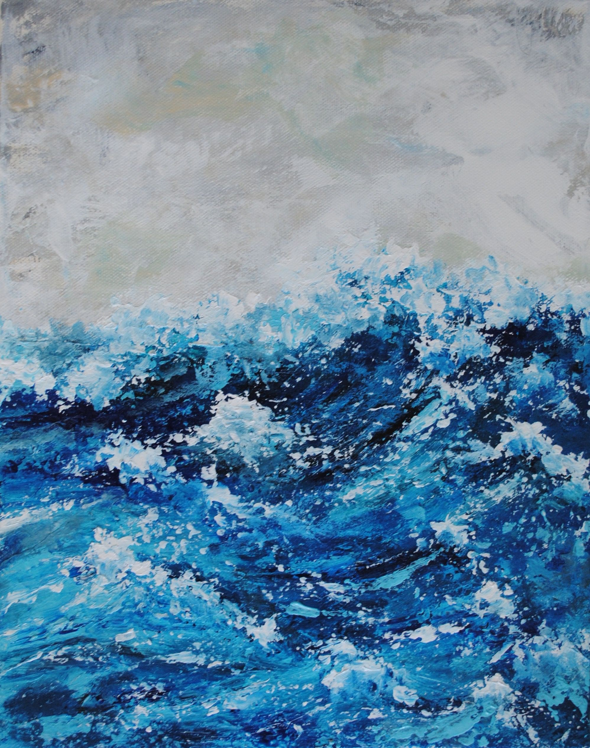 Modern Interpretation Of The Movement Of Water The Powerful Sea