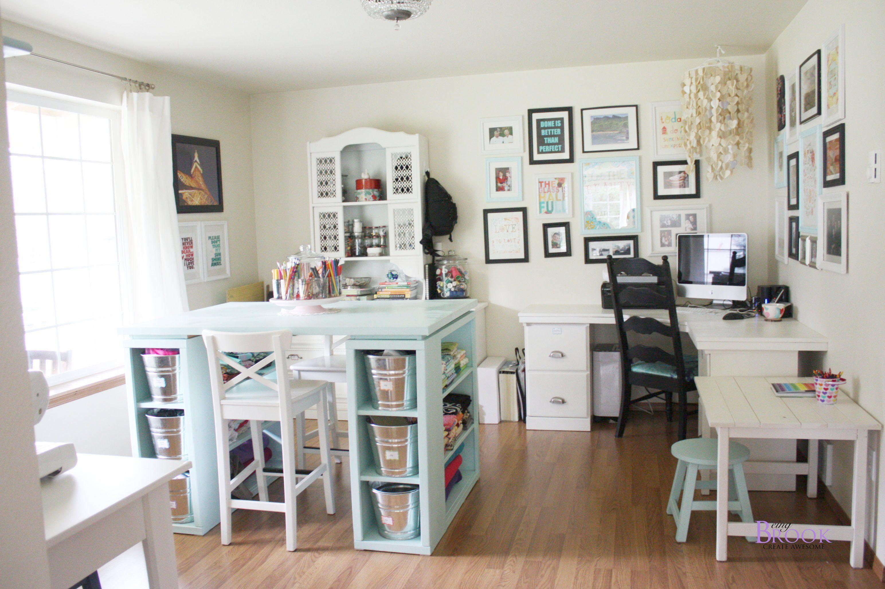 Marvelous Craft Room Furniture Ideas Homihomi Decor Sewing Room