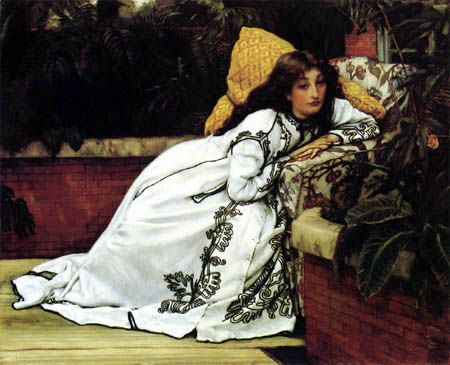 The reception | James Tissot | 1885 | ::: silver and exact :::