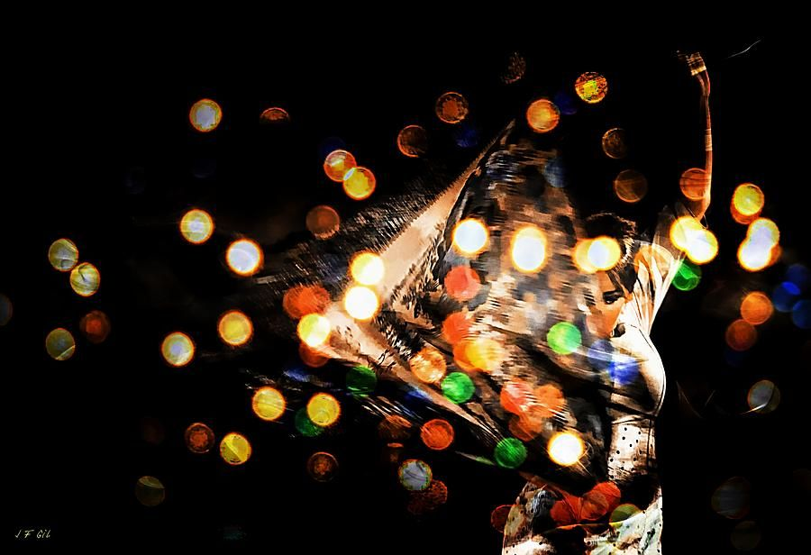 Flamenco Passion Photograph by Jean Francois Gil