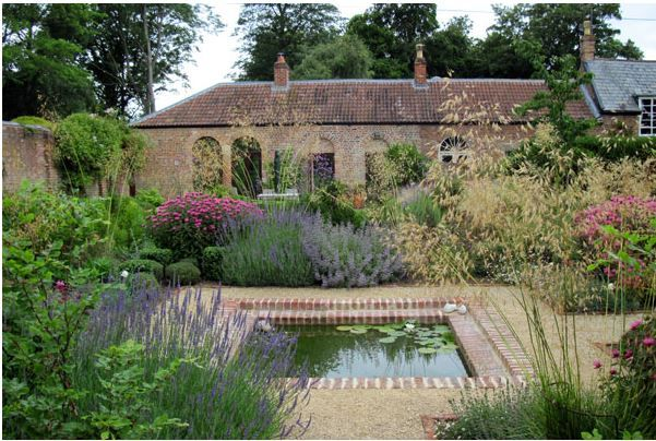 Amanda Patton garden design | walled garden | Pinterest | Gardens ...