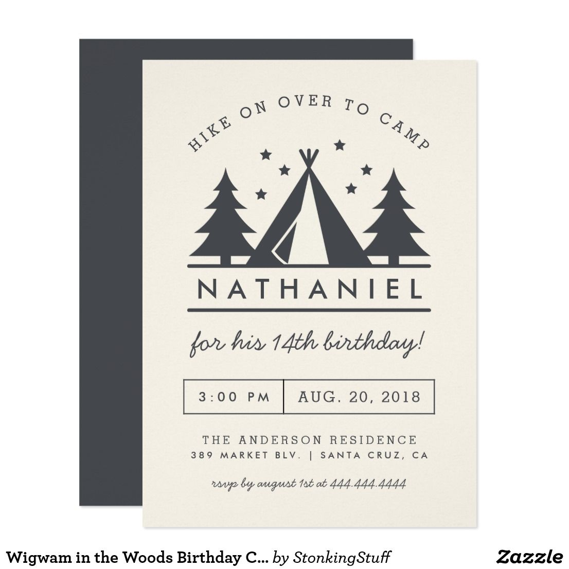 party invitations create your own