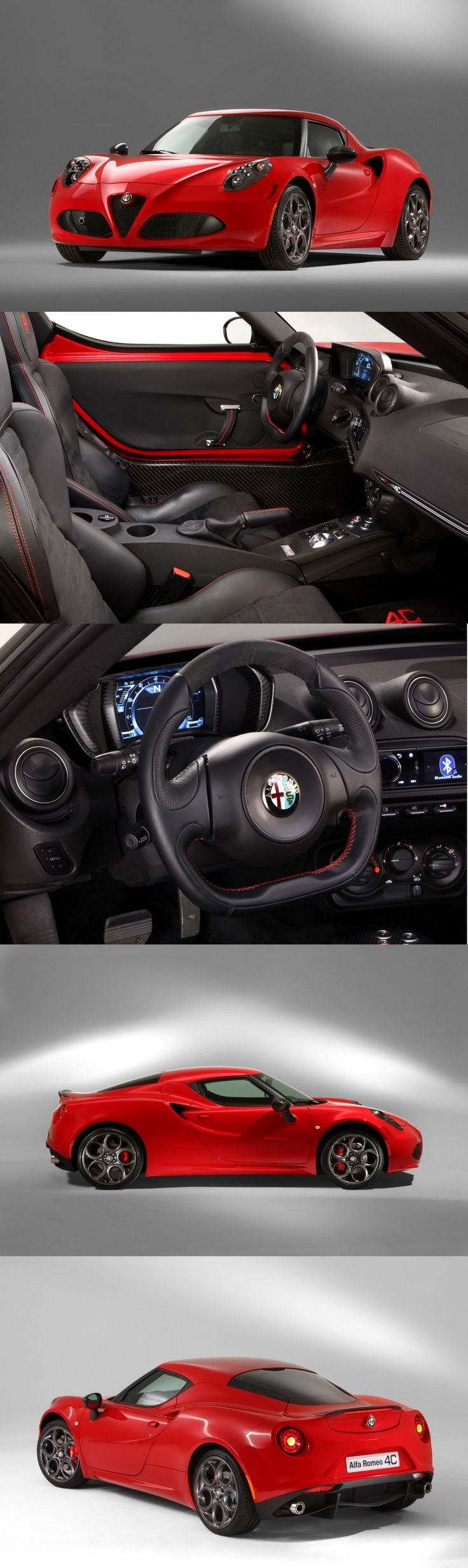 Hermoso Alfa Romeo. ¿Anonadados también? ¡El interior se pasó!