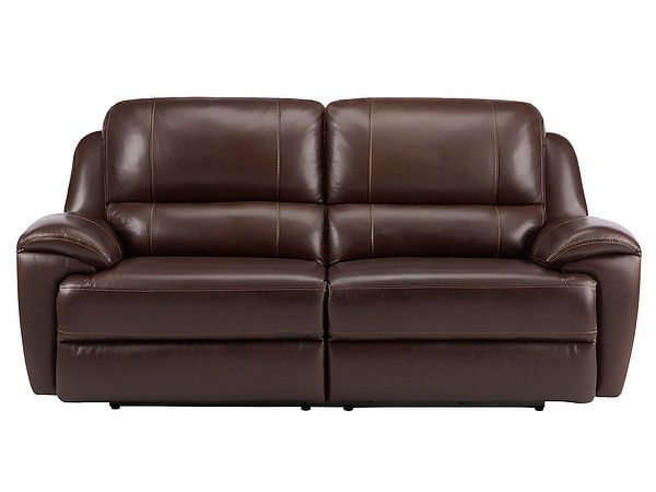 Good Leather Electric Recliner Sofa Perfect 65 In Home Decor Ideas