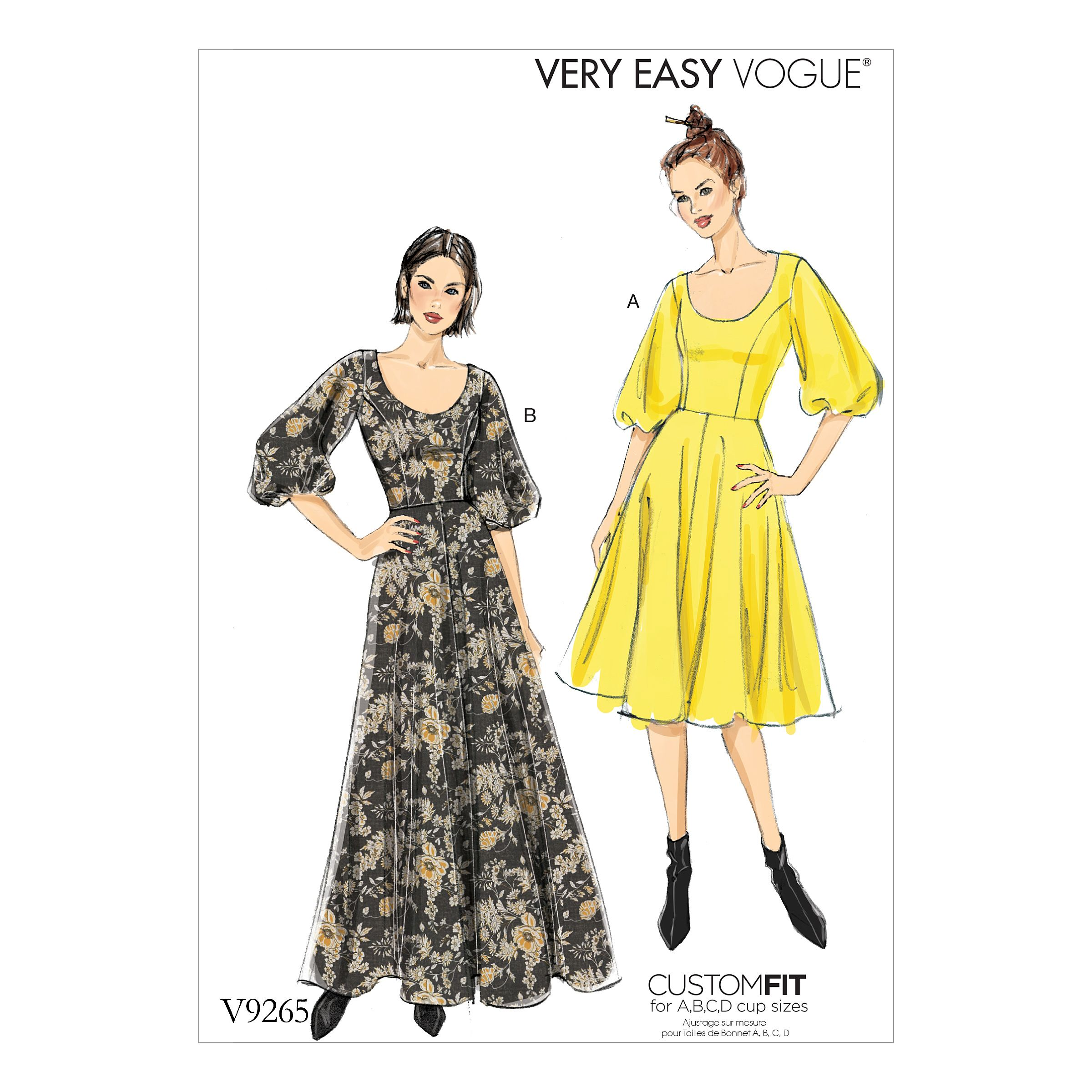Purchase Vogue Patterns 9265 And Read Its Pattern Reviews Find