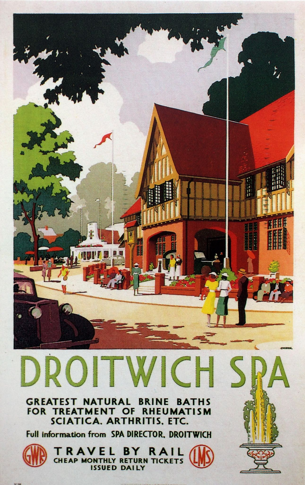 Droitwich In 2019 Arm Chair Travel Posters 5 Train