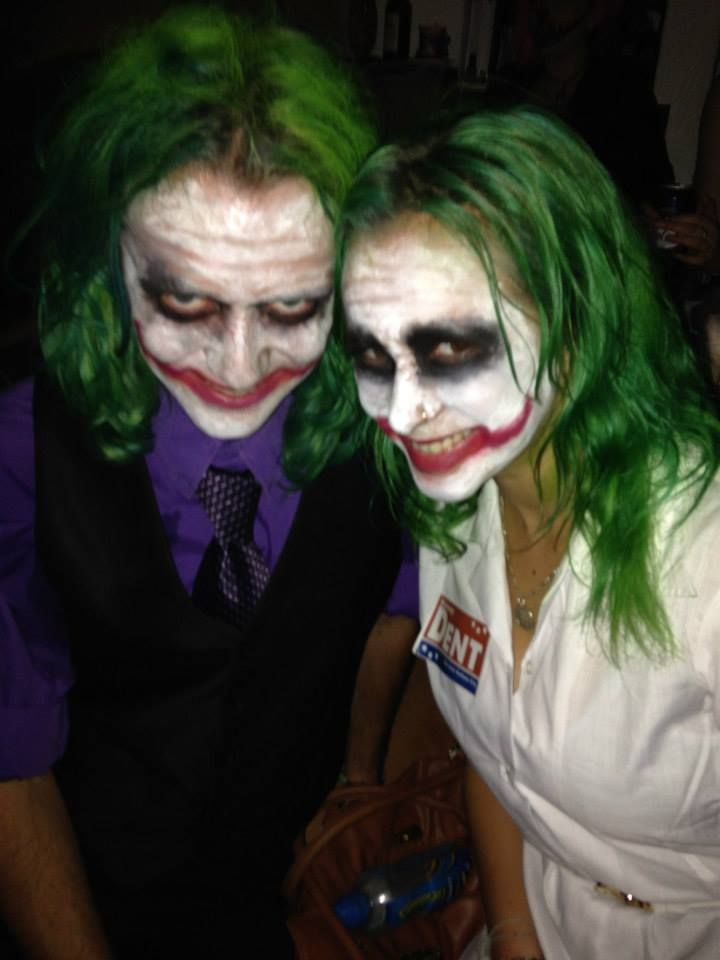 His Hers The Joker Fancy Dress Nurse And Suit Batman Couples