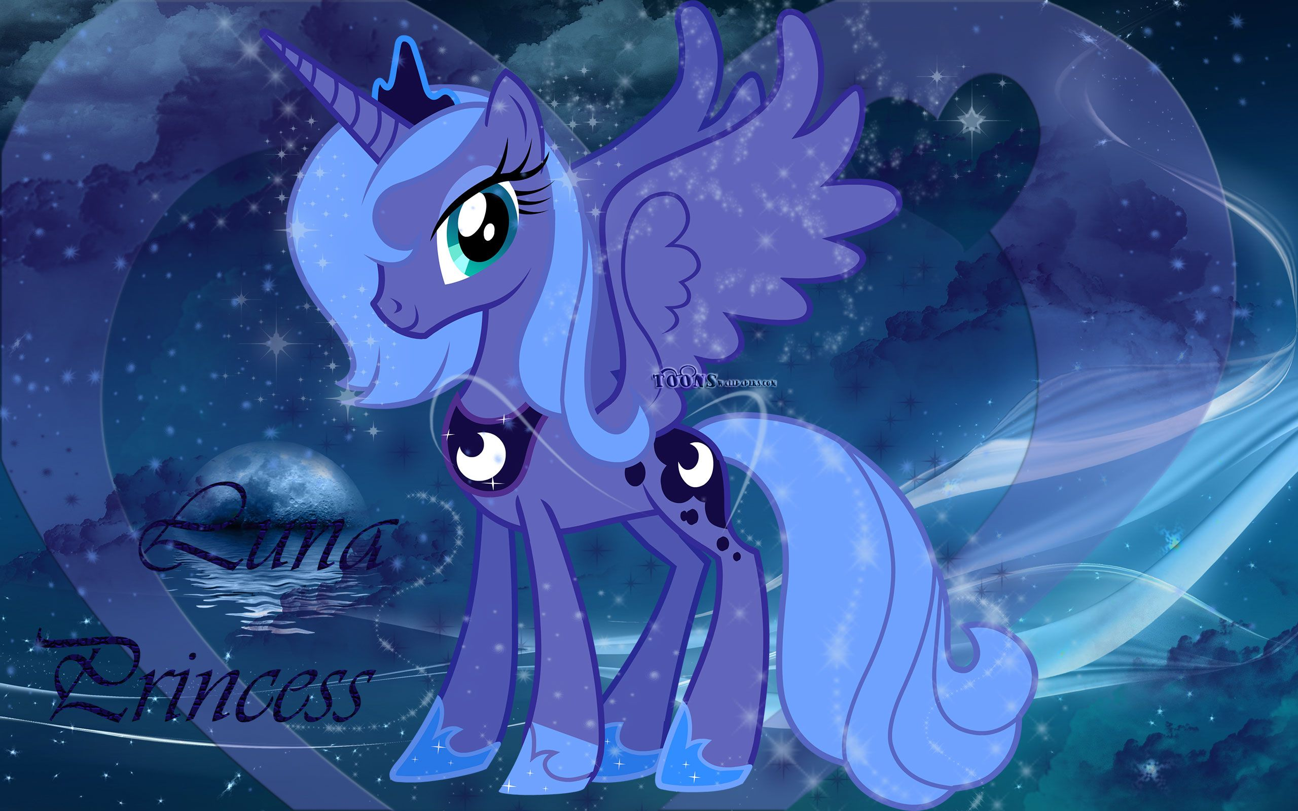 My Little Pony Coloring Pages Nightmare Moon : Princess luna my little pony my little pony friendship is