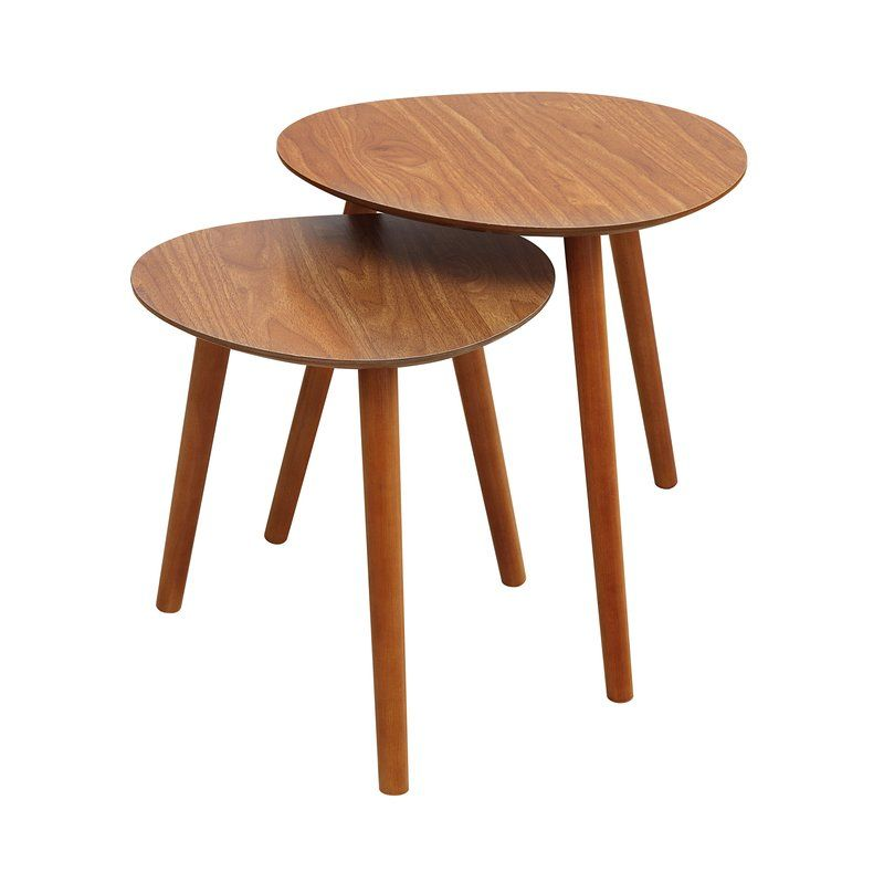 Creenagh 2 Piece Nesting Tables Nesting End Tables End Tables Nesting Tables