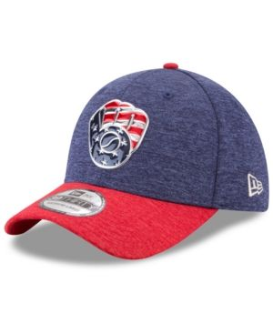 timeless design d7464 4c07e New Era Milwaukee Brewers Stars   Stripes 39THIRTY Cap - Red Navy S M