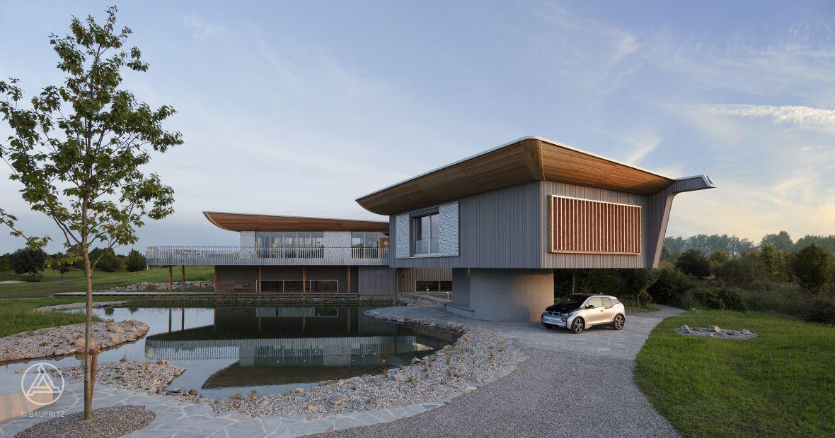 Design holzhaus  Design-Holzhaus Konzepthaus Haussicht | Haus | Pinterest ...