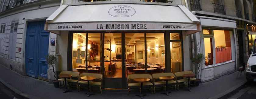 La maison mère - It has a French brasserie vibe, but it's a bit classier: they do burgers, but the fries are fancy. It's open late, too. I like to eat after 9:30 p.m., and what's cool about Paris is you don't have to be scared to ring up and say: Do you have a table for 10 p.m.? 4 rue de Navarin; lamaisonmere.fr