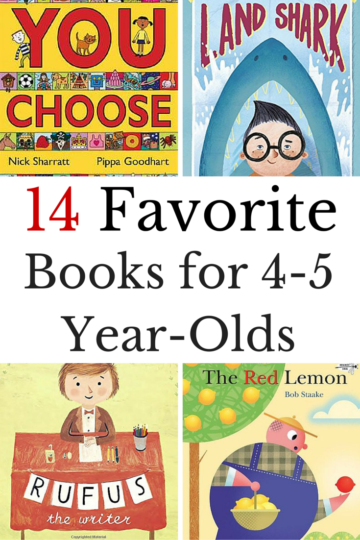 Favorite Books For 4 Year Olds Preschool Books Books
