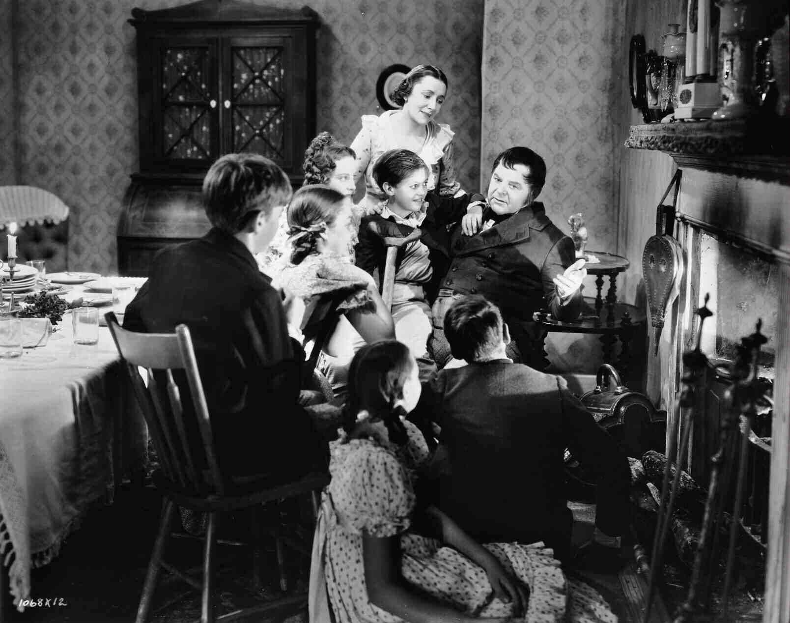"""The Cratchits MGM's """"A Christmas Carol"""" (1938"""