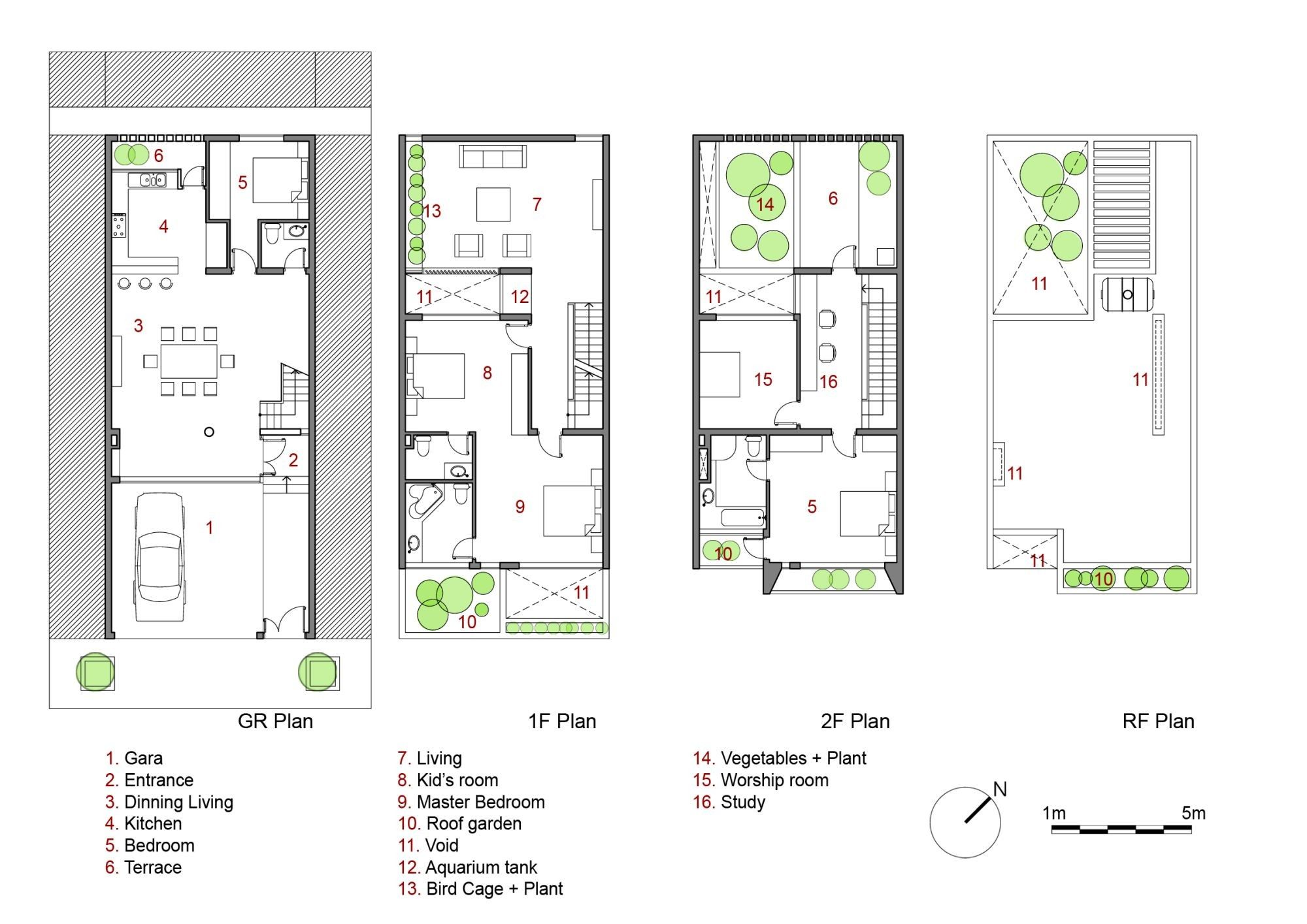 Image 24 Of 25 From Gallery Of House No47 X2f H Amp P Architects Plan How To Plan House Floor Design House Floor Plans