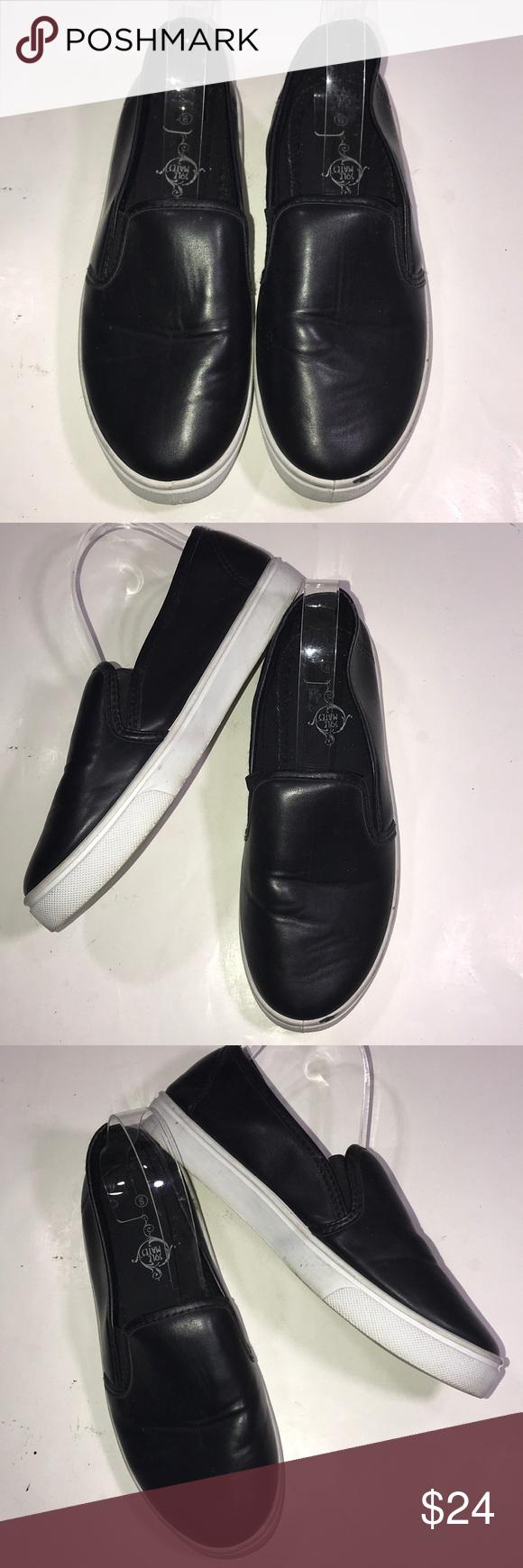 Sole Mates Flats Left Shoe Slip On Sneaker Shoes [ 1740 x 580 Pixel ]