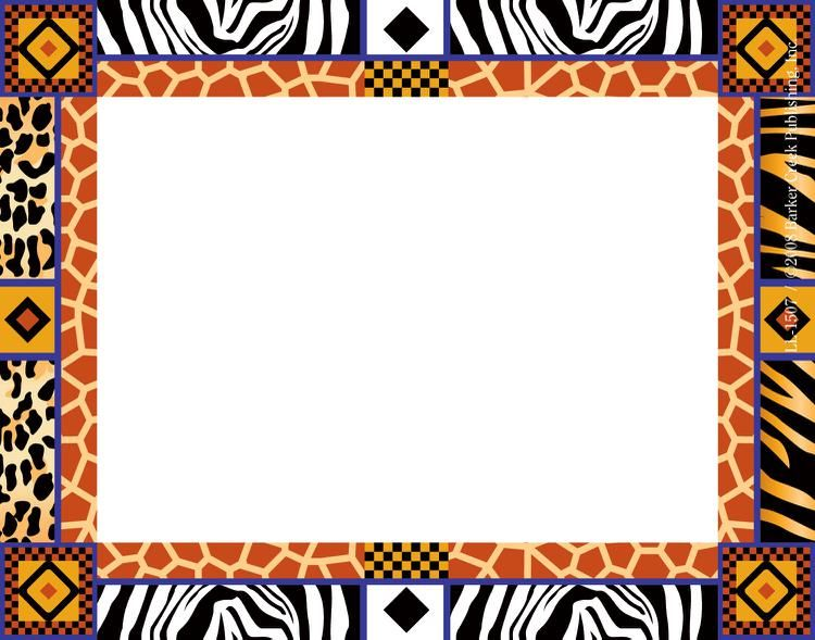 African Border Designs Clip Art Borders Border Design Borders For Paper