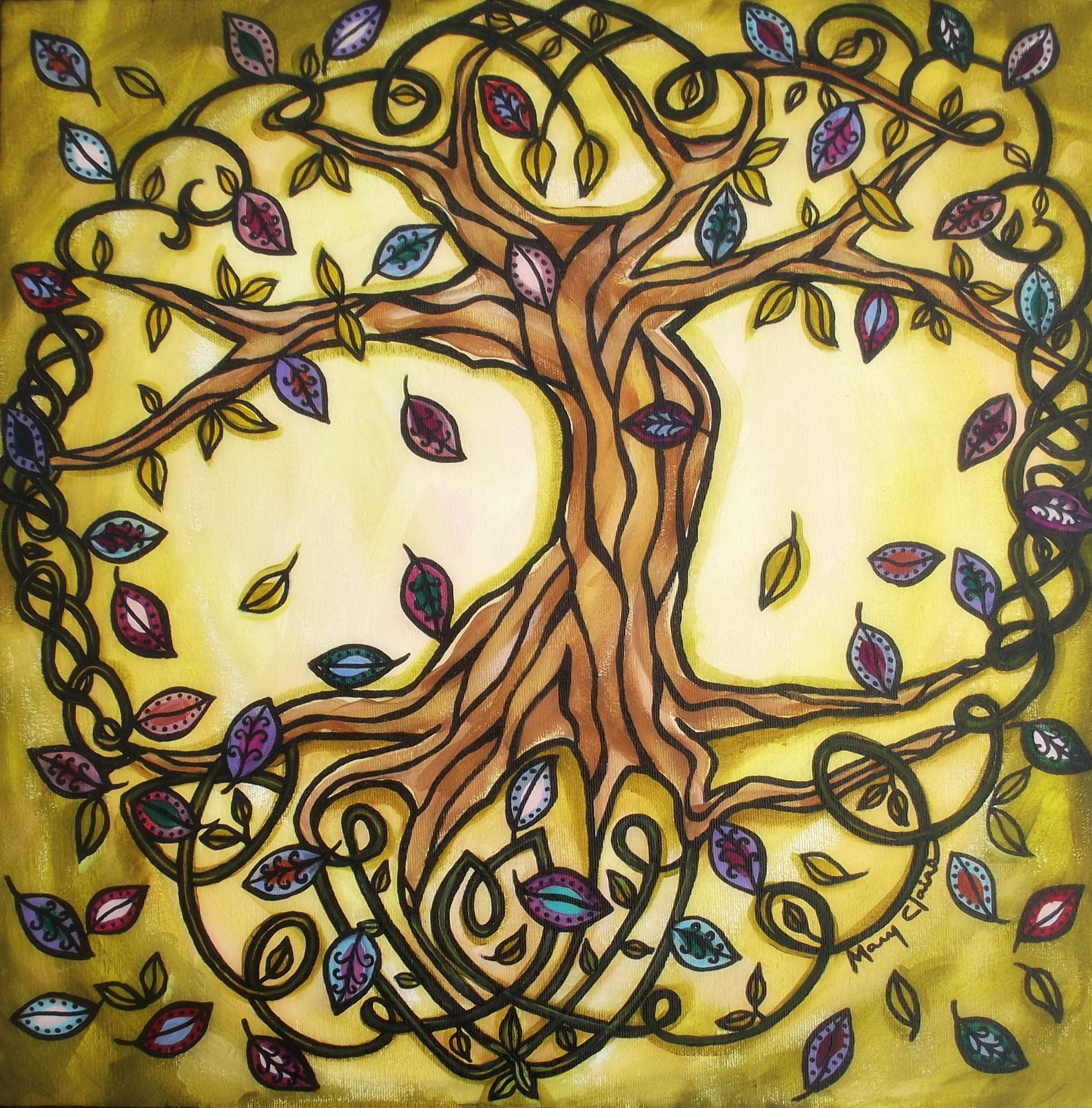 celtic-tree-of-life1 | Originals, Tree art and Paintings