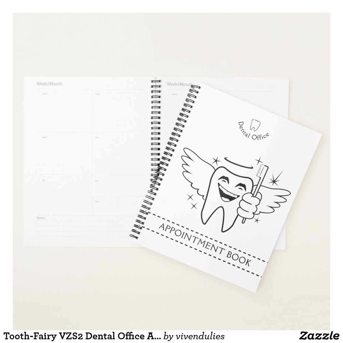 ToothFairy Vzs Dental Office Appointment Book  Planner