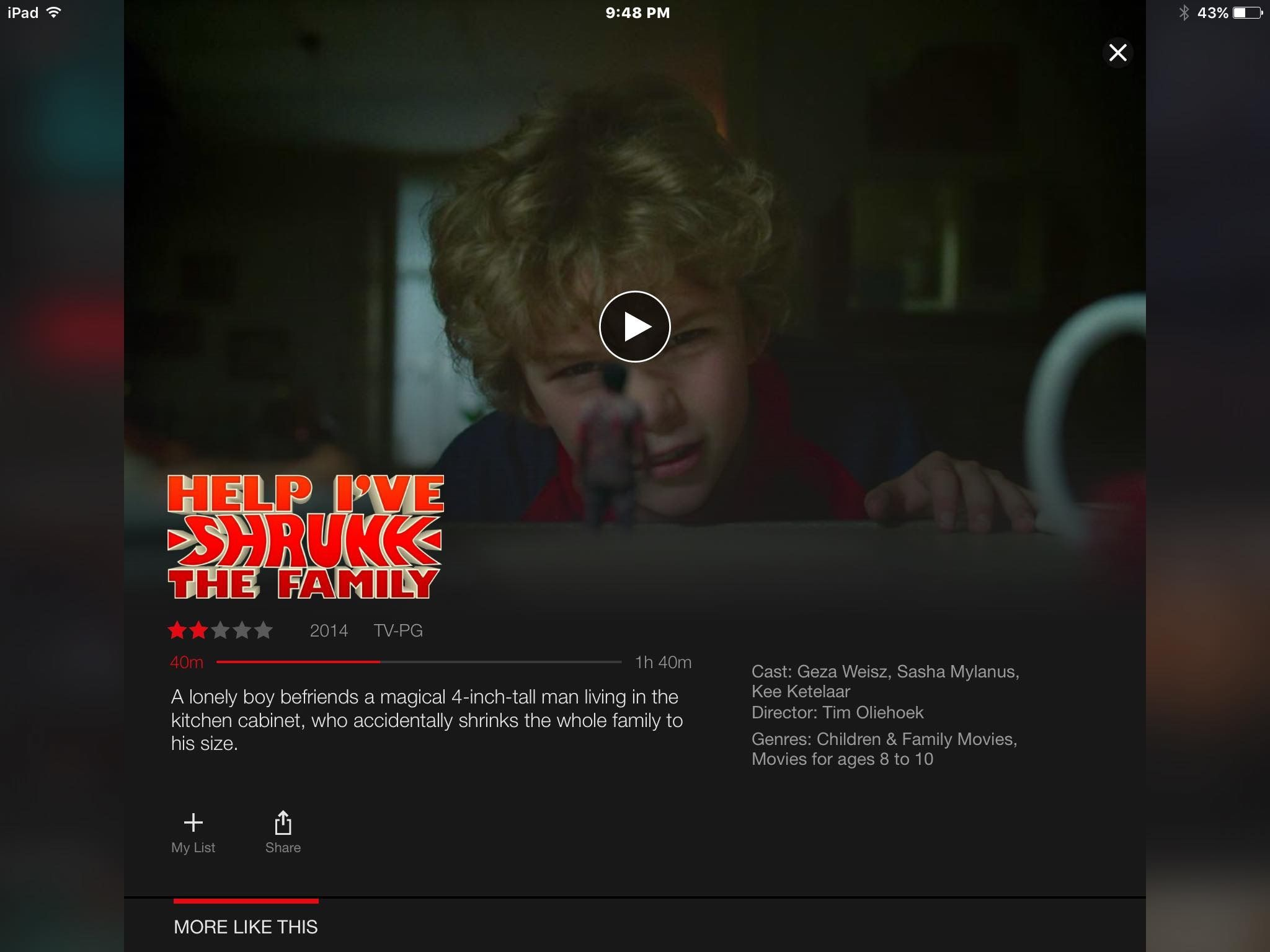 This is a cute movie kid sure would like it but crazy old people like me LOL
