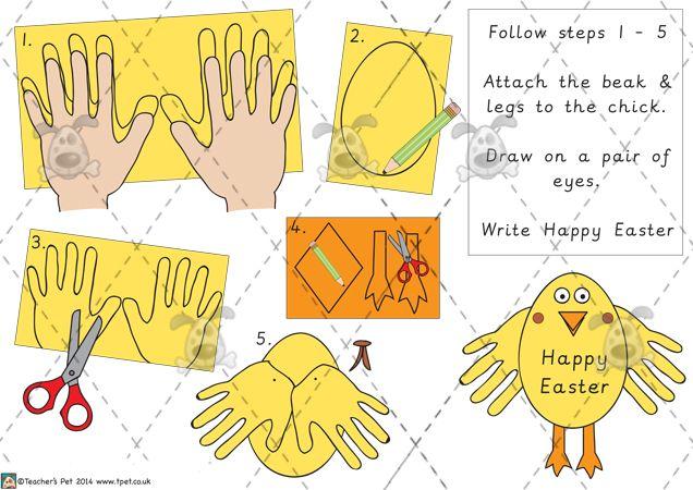 Teacher's Pet Easter Story Retell Frames Premium