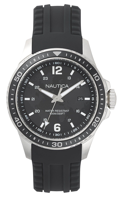 Nautica mens watch napfrb001 amazoncouk watches