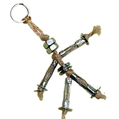Porte-clés boulonné pour grand-père - Tête à modeler   porte clés ... 2707214dc84