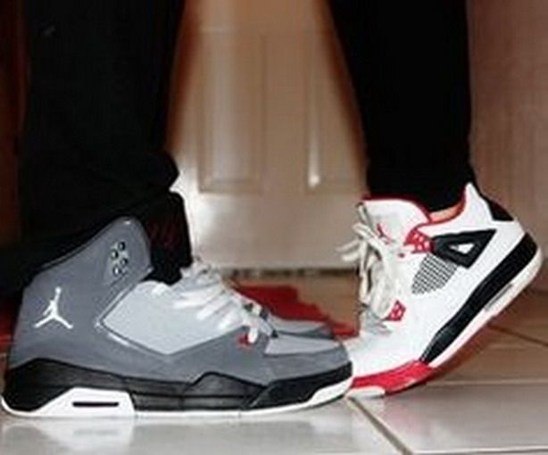 Jordan Shoes #Jordan #Shoes She is creasing her shoes though. Lol